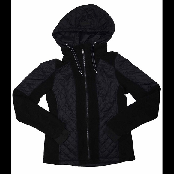 Calvin Klein Jackets & Blazers - Calvin Klein Quilted Jacket with Removable Hood